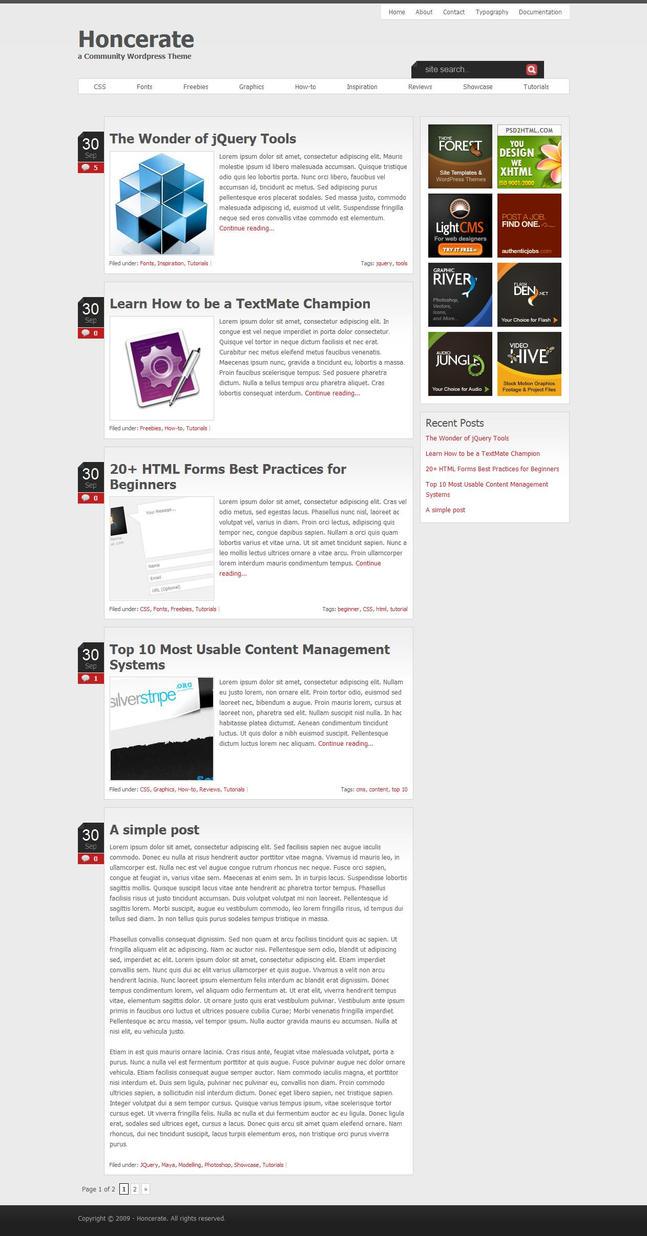 Wordpress Theme - for sale by snaz