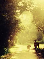 Walking on sunshine by Lionique