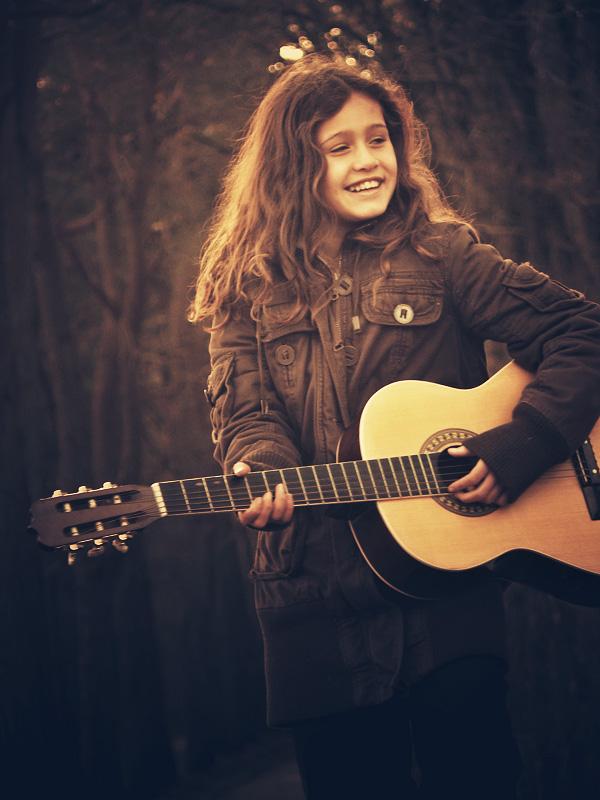 Guitar soloist by Lionique