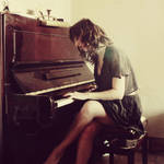 Soft piano play