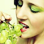 Groene druifjes