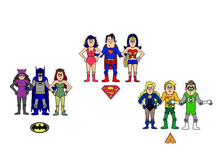 DC comics couples by Ariel100 on DeviantArt