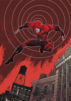 Daredevil pin up