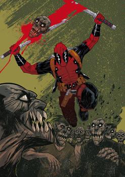 Deadpool pin up