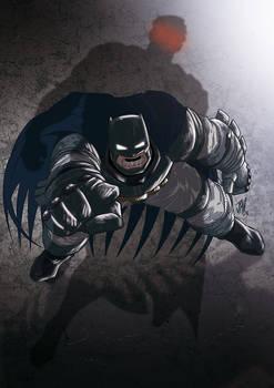 Batman v Superman pin up