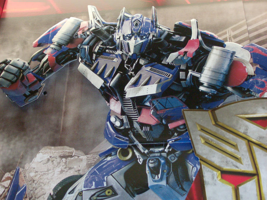 Optimus Prime -srsface- by HoneyAppleNinja