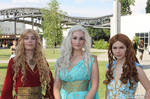 Game of Thrones' Queens 2 by V-kony