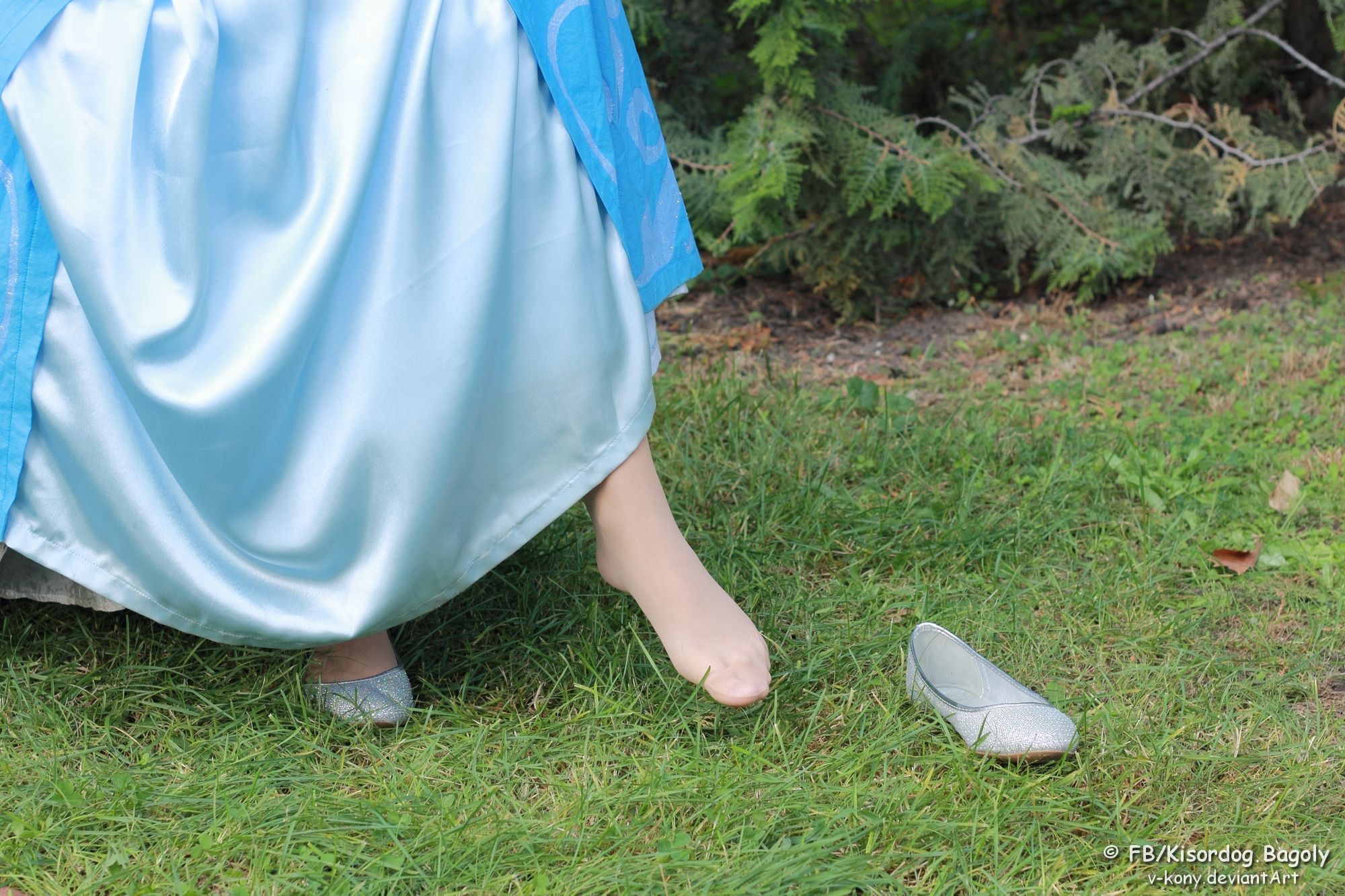 Cinderella And Her Lost Shoe By V Kony On DeviantArt