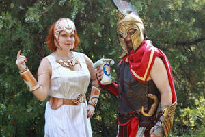 Assassin's Creed Odyssey - Persephone and Aletheia by V-kony