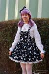 Purple hair girl 3