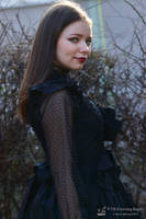 Goth girl 6 by V-kony