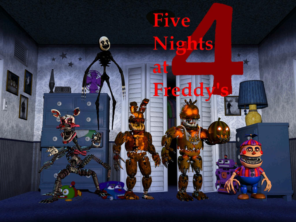 Five Nights at Freddy's 4: Halloween Edition by MrMarioluigi1000 ...