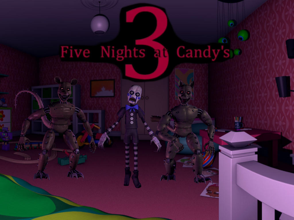 Five nights at candy android | FNAC Five Nights at Candy's 3