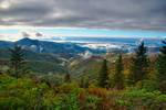 blue ridge parkway smoky mountains north carolina