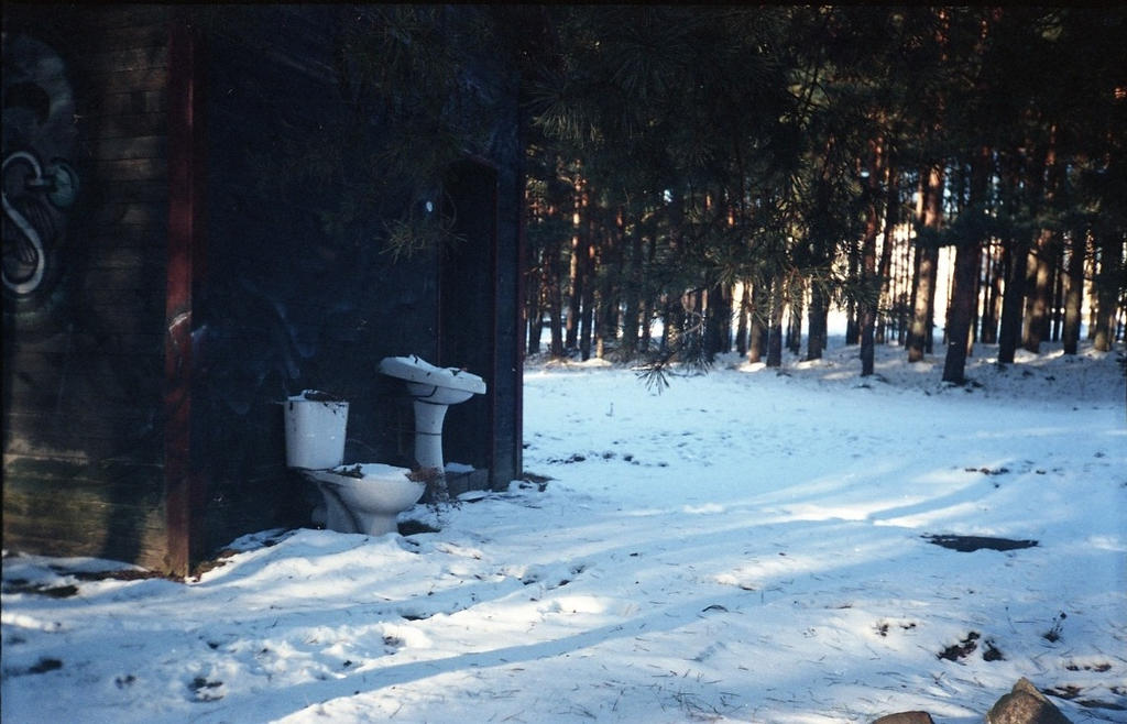 Winter in Nida by teplione