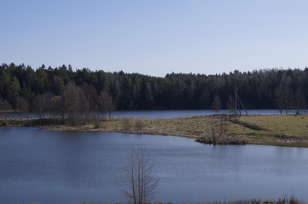 small lake by teplione