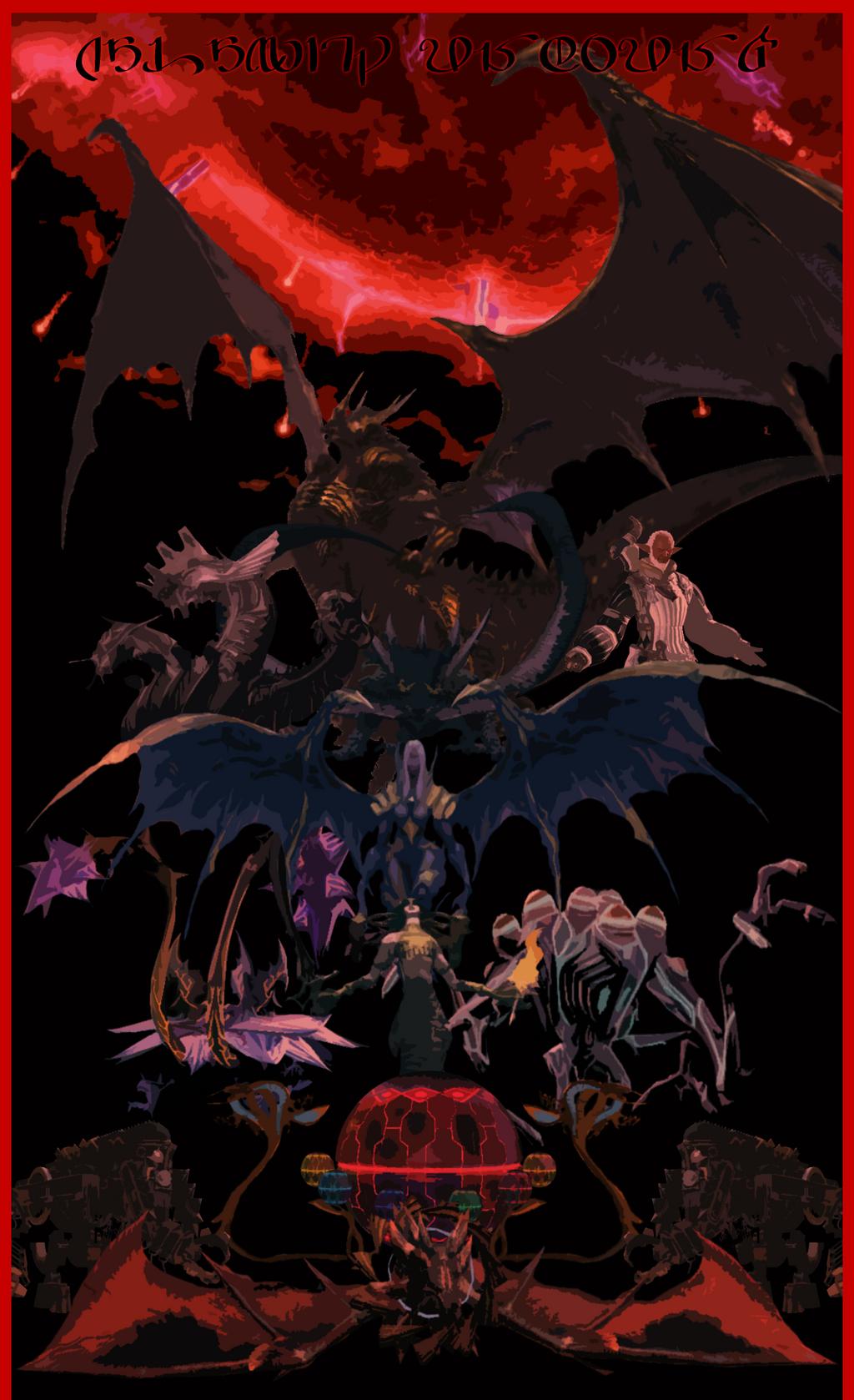 Final Fantasy XIV Calamity Unbound By DanteAllaghieri