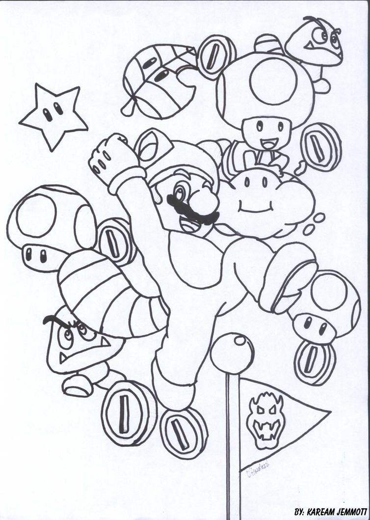 Super Mario 3D Land By KStarboy On DeviantArt