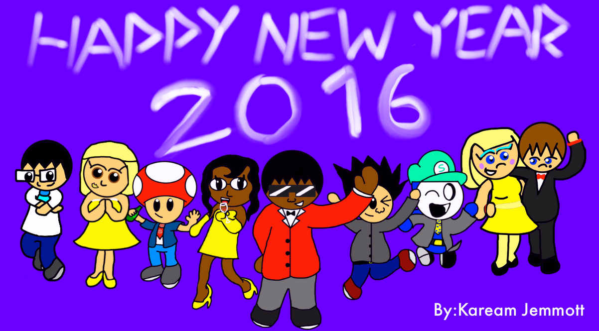 Happy New Year 2016 by KStarboy