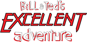 Bill and Ted Excellent Adventure Logo Work