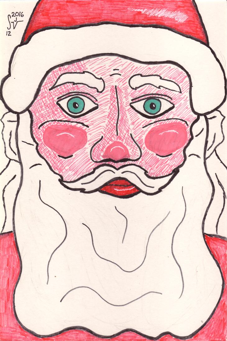 Santa Closeup by sjvernon