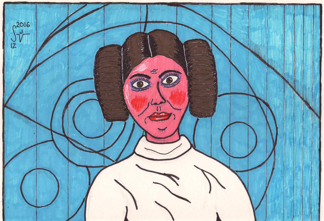 Princess Leia by sjvernon