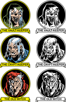 EC Host Trio Vault-Keeper Crypt-Keeper Old Witch