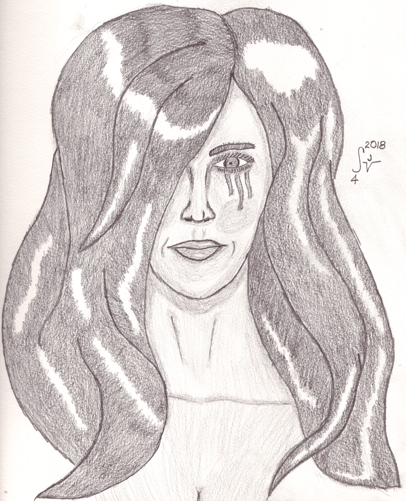 Dawn Pencil Portrait by sjvernon