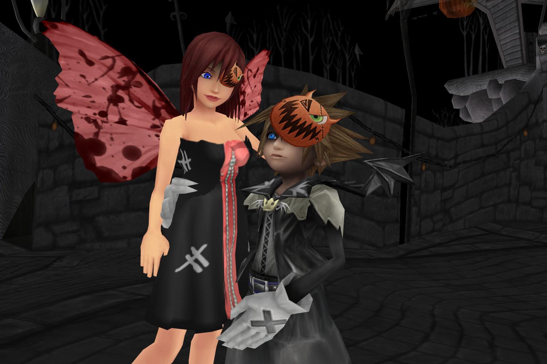 sokai love in halloween town by dramakid99 - Roxas Halloween Town
