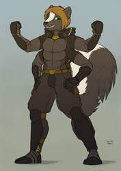 Warpstripe - Superhero Multi-Skunk