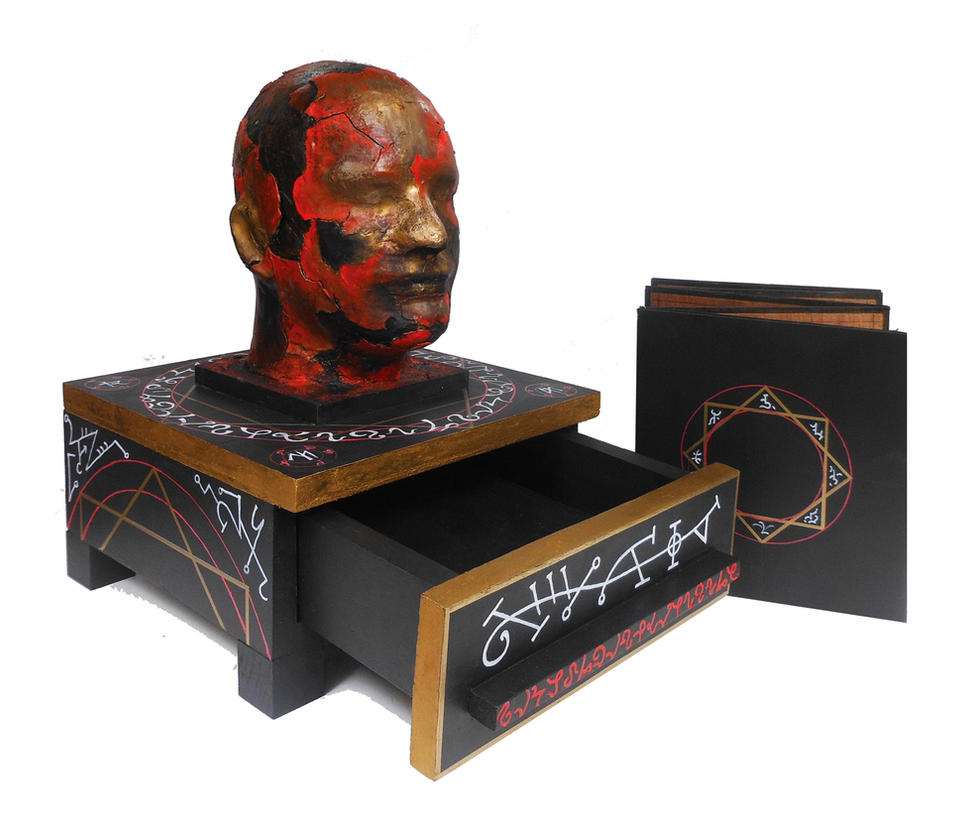 Head with Book1.0 by WukashGrochocki