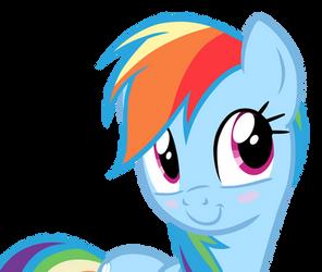 Rainbow Dash GIANT face