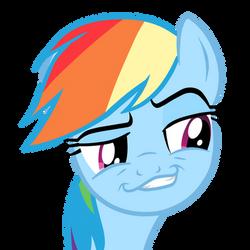 Rainbow Dash Rape-face