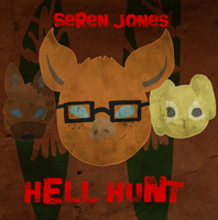 Hell Hunt Cover TEXT by Fluffypig