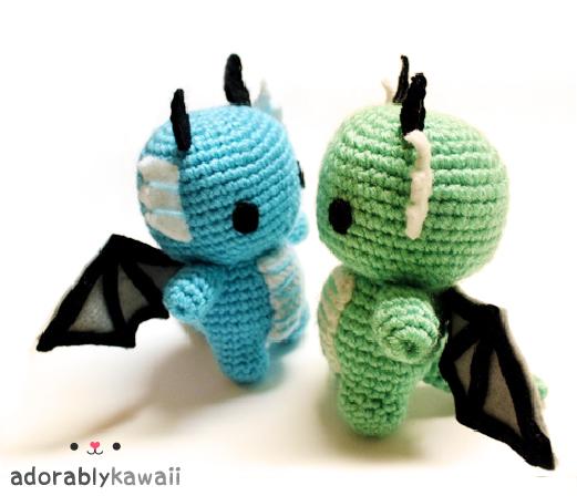 Baby Dragons Amigurumi by adorablykawaii on DeviantArt