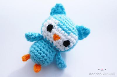 Cute Little Amigurumi Owl : Tiny owl amigurumi by adorablykawaii on deviantart