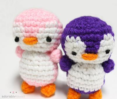 Tutorial Amigurumi Pinguino : 2 Penguins Amigurumi by adorablykawaii on DeviantArt