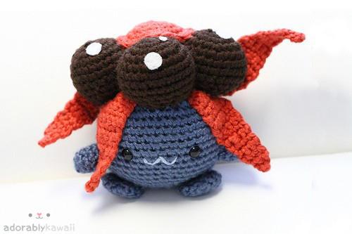 Pokemon Gloom Amigurumi