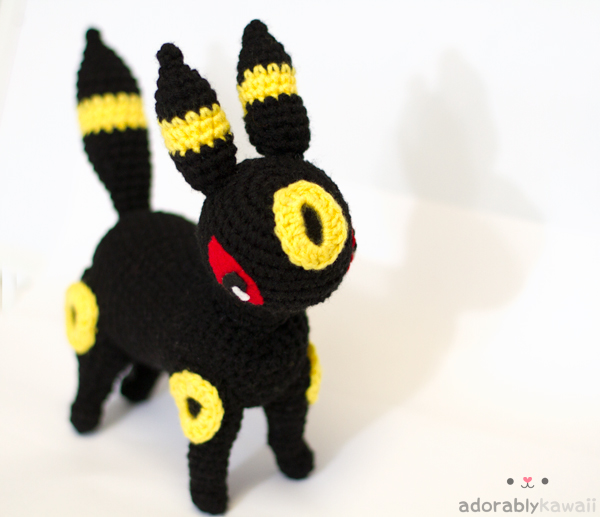 Pokemon Umbreon Amigurumi by adorablykawaii on DeviantArt