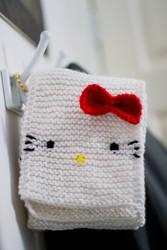 hello kitty scarf meww by adorablykawaii