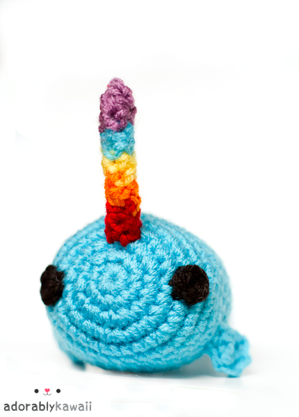 narwhal amigurumi 2 by ~adorablykawaii