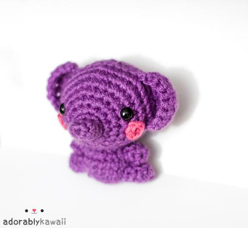 purple elephant ami by adorablykawaii