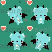 Blue Dragons by adorablykawaii