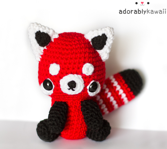 Red Panda Plush by adorablykawaii