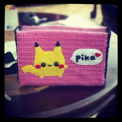 Pika Bag WIP by adorablykawaii