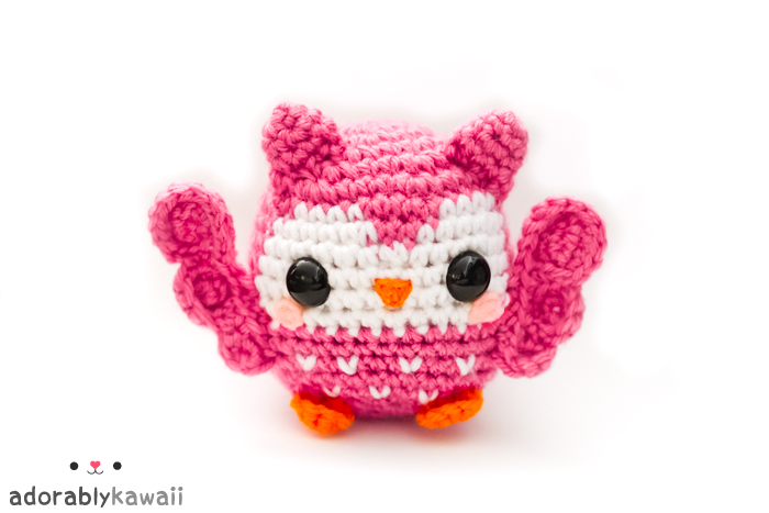 cute pink owl amigurumi by adorablykawaii on DeviantArt