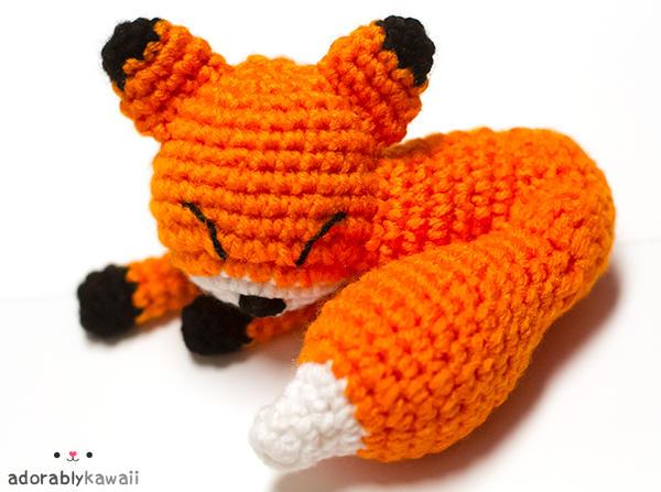 Mini Sleepy Fox by adorablykawaii