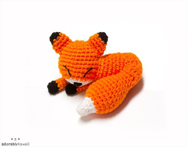 Mini Sleepy Fox 2 by adorablykawaii
