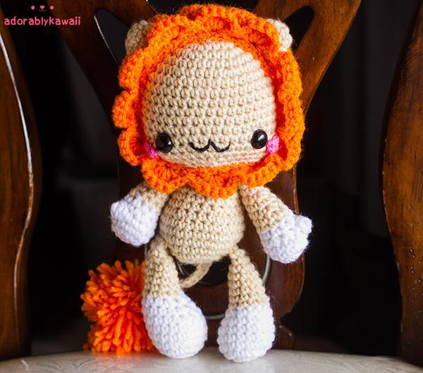 Baby Lion Amigurumi by adorablykawaii on DeviantArt