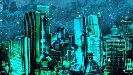 To Submerge a City by Seanachaidh125